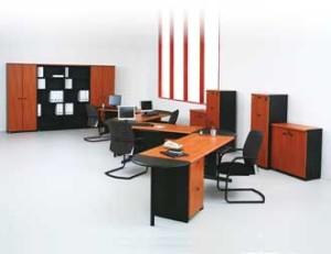 Meja Kantor Modera V Class