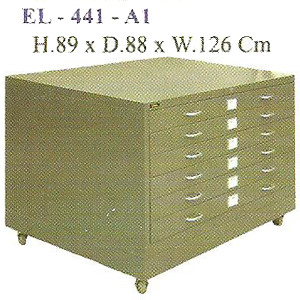 Lemari Gambar Elite EL-441-A1