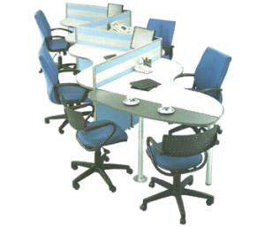 Partisi Kantor Modera 3 Series 4 Staff