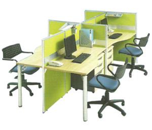Partisi Kantor Modera 3 Series H 4 Staff