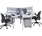 Partisi Kantor Modera 1 Series G 3 Staff