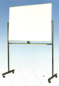 whiteboard-sakana-Stand 80x120(2muka+kaki